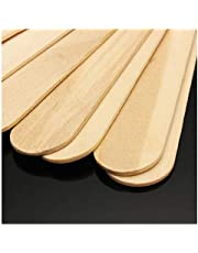 Hair Line Wooden Professional Disposable Wax Knife Spatulas Applicators 100 Pcs Box