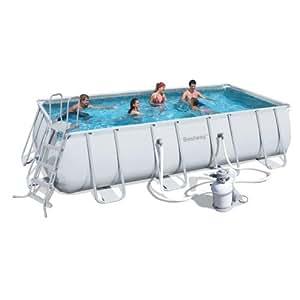 39 bestway pools hartschale rechteckig trasimeno klein 549x 274x 122h cm 144 7kg garten. Black Bedroom Furniture Sets. Home Design Ideas