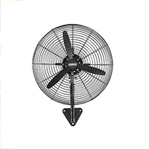 DGLIYJ Ventilador De Pared, Mecánico Cabeza Móvil Ventilador para Colgar En La Pared Hoja De Aluminio...