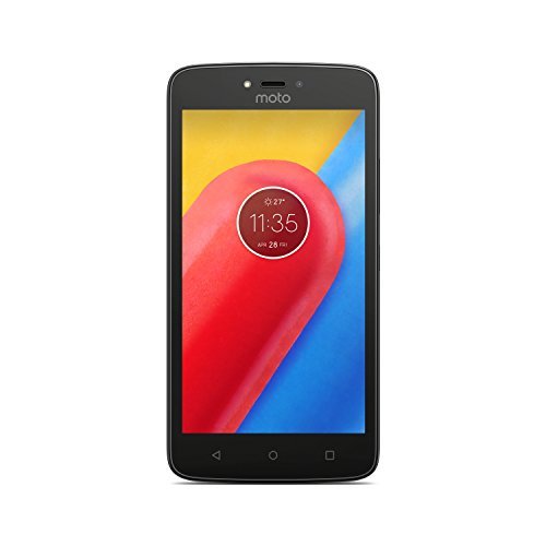 Motorola Moto C Smartphone, Memoria Interna da 16 GB, Metallic Cherry