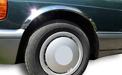 Benz W110 1961-1968 Radlauf Zierleisten Neu Chrom (Chrom) gebraucht kaufen  Wird an jeden Ort in Deutschland