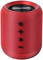 Promate HUMMER.RED Wireless Speaker, Portable 10W Bluetooth Speaker v4.2 with HD Sound Quality, Built-In Mic,