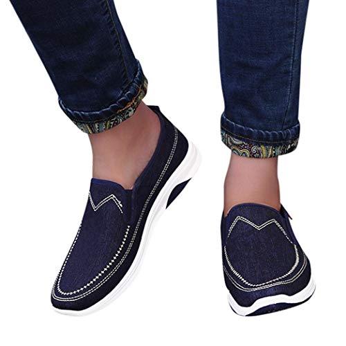 Chaussures de Sports Homme CIELLTE Sneakers Chaussures de Course Baskets Chaussures Plates Casual Chaussures Bateau Entraînement Respirantes