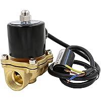 Heschen Messing Elektrisches Magnetventil 3/4 Zoll AC 220V Direkte Wirkung Wasser Luft Gas normalerweise geschlossen Ersatzventil Keine Heizung in 48 Stunden