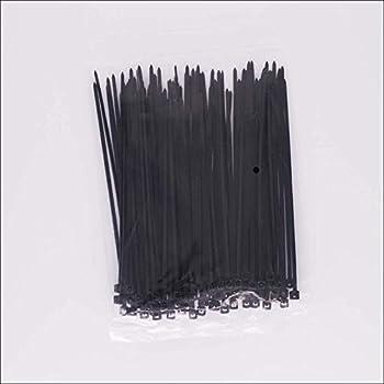 Waymeduo 100 Pcs 200mm x 2.5mm electrique Cable Attache enveloppe Nylon fixation