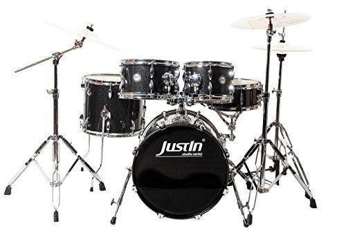 studio-series-18-drum-set-black-sparkle-18bd-10tt-12tt-14ft-12sn-avec-hardware-tabouret