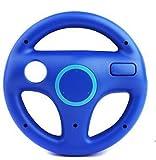 LIFECART Fashion Racing Games Steering Wheel For Nintendo Wii Mario Kart (Blue)