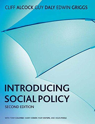 Introducing Social Policy por Cliff Alcock