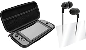 Venom Switch Tempered Glass Screen Protector and Controller Case Starter Kit (Nintendo Switch) from Venom
