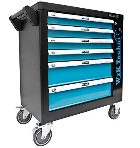 XXL Edition | Werkzeugwagen - Werkstattwagen - 6 Schubladen gefüllt mit Werkzeug | Bit Sets, Ratschen, Nüsse und vieles mehr... - 4