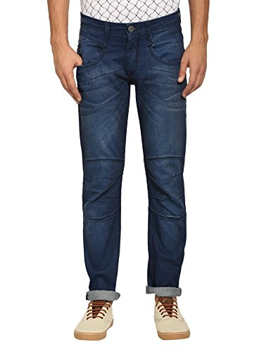 abof Men Blue Slim Fit Jeans  available at amazon for Rs.507