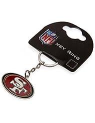 Blason officiel NFL New Porte-clé en métal Équipe de football au choix est livré dans un emballage officiel cadeau idéal!