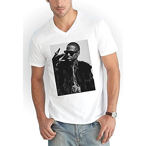 Big Sean Westcoast V-Neck T-Shirt Girls Blanco