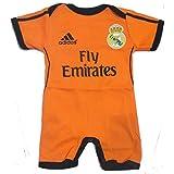 Body mameluco Jumpsuit Real Madrid 3rd Ronaldo 6-9 Meses