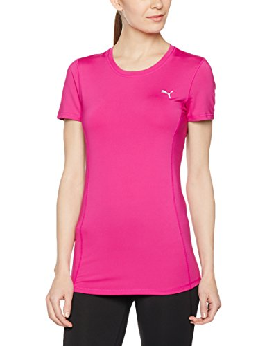 PUMA Damen Essential Tee T-Shirt, Ultra Magenta, L -