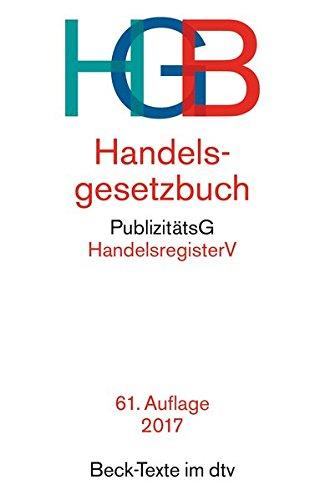 Handelsgesetzbuch por Wolfgang Hefermehl