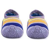 u-grow Baby Anti-Skid Breathable Soft & Comfortable Socks Shoes (23, Grey)