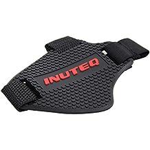 LIOOBO Goma Motocross Shift Pad Motocicleta Cambio de Marcha Calzado Botas Protector Shift Sock Moto Cubierta