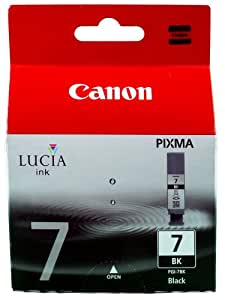 Canon BJ CRG PGI-7 BK Cartouche d'encre d'origine séparée Encre noir pigmenté
