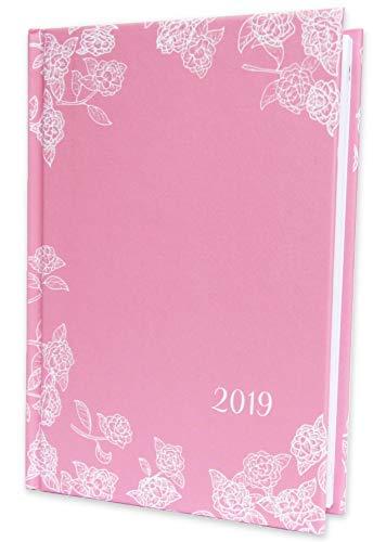 Terminplaner 2019 A6 - Hardcover mit Fadenheftung - Wochenkalender Taschenkalender A6 - Kalender -...