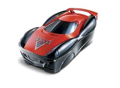 Mattel V9861 Cars 2 - Maletín A Todo Gas (2 en 1: caja para 25 vehículos con pista de carreras) de Mattel