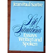 Life/Situations: Essays Written and Spoken by Sartre Jean-Paul (1977-01-01)