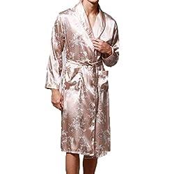 Oto o Pijama De Seda De...