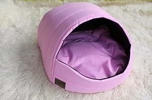 Dôme/panier/niche pour chien chat YORK SHIH-TZU 3 Rose