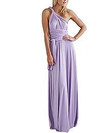 ZEARO Abendkleid Damen Kleider Abendkleid elegant Vintag Kleider hochzeit festlich Partykleid lang