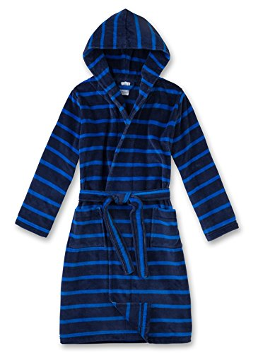 Sanetta Jungen Bademantel 243732, Blau (Washed Blue 50110), 152