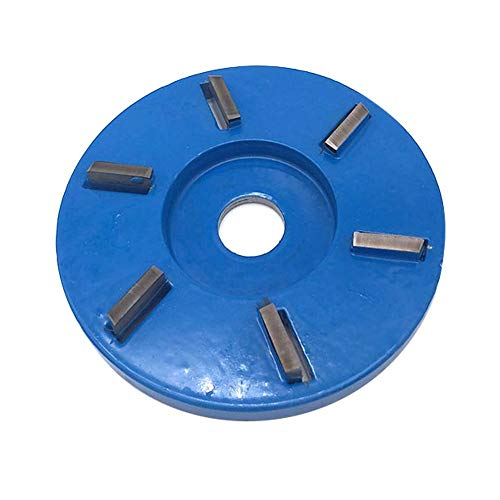 Holzschnitzerei Disc Winkelschleifer,90mm Holz Turbo Carving Disc Werkzeug Fräser Werkzeuge Für Winkelschleifer, Power Holzschleifen Trennscheibe Winkelschleifer Aufsatz Fräser Werkzeug
