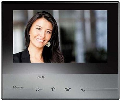 """Legrand, Citofono interno classe 300 V13B, 7"""", con touchscreen LCD, Nero (schwarz)"""