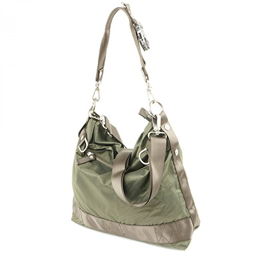 George Gina & Lucy 100 Peaches Schultertasche 38 cm olively