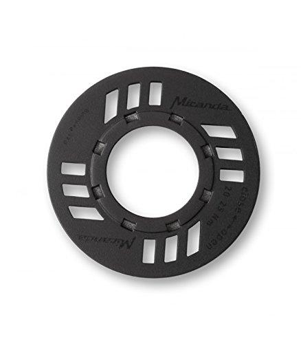 Miranda Kettenschutz mit O-Ring für Bosch Antrieb, schwarz E-Bike Zubehör One Size