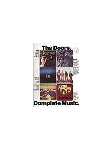 The Doors: Complete Music. Für Klavier, Gesang & Gitarre(mit Akkordsymbolen)