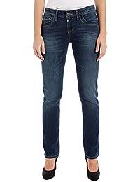Timezone Damen Straight Jeans Tahilatz 3385 Surfer Wash