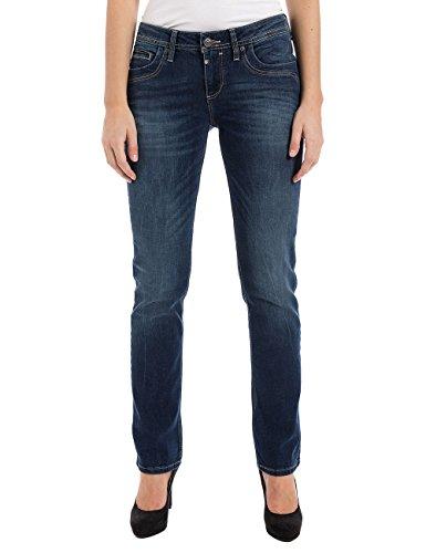 Timezone Damen Straight Jeans TahilaTZ 16-5585 - 3218, Gr. W31/L30 (Herstellergröße: 31/30), Blau (Surfer Wash 3385)