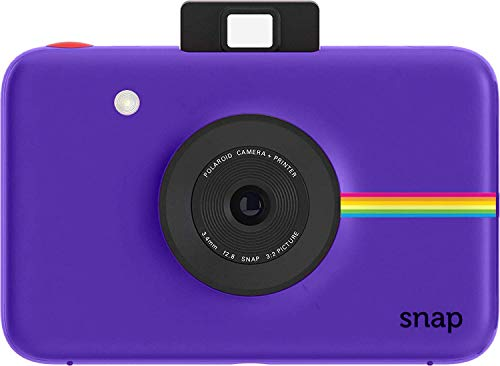 Polaroid Snap 2.0 Instant Digitalkamera (Lila) mit Zink Zero Ink-Drucktechnologie Fuji Digital-kamera-bundle