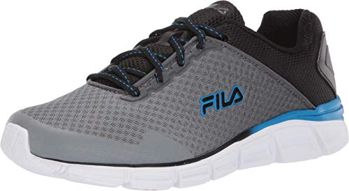 Fila Herren Memory Countdown 5 Running, (Castlerock/Black/Electric Blue), 39 EU M - Laufen Fila Männer Schuh