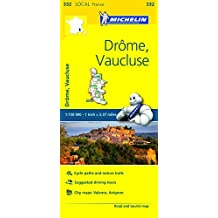 Michelin FRANCE: Dr??me, Vaucluse Map 332 (Maps/Local (Michelin)) by Michelin Travel & Lifestyle (2016-04-07)