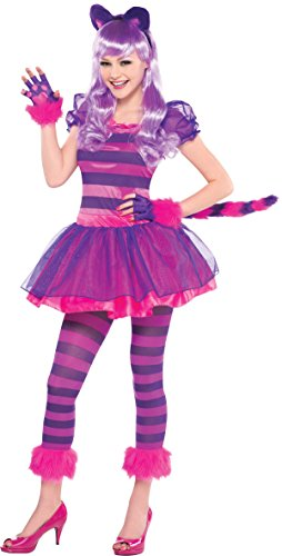 Amscan International Cheshire Cat Costume (Mädchen Cat Cheshire Kostüm)