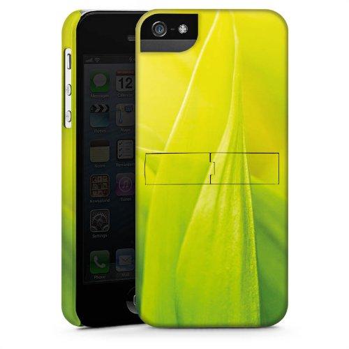 Apple iPhone 6 Housse Étui Silicone Coque Protection Brin d'herbe Feuilles Nature CasStandup blanc