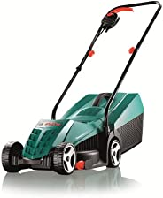 Bosch Rotak 32R Electric Rotary Lawnmower, 0600885B70, Green & Black, 32 cm Cutting W