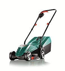 Bosch Home and Garden Rotak 32R Electric Rotary Lawnmower with 32 cm Cutting Width
