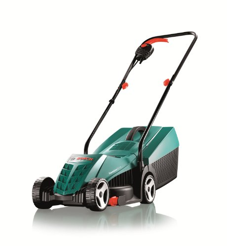 Bosch Rotak 32R Electric Rotary Lawnmower with 32 cm Cutting Width Test