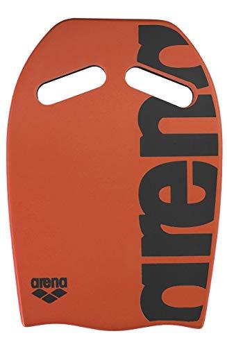 arena Unisex Schwimmbrett Kickboard als Schwimmhilfe oder zum Kraft- und Techniktraining), Orange (30), One Size