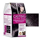 #3: L'Oreal Paris Casting Creme Gloss, Ebony Black 200,87.5g+72ml