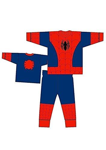 DC Shoes Boys Pyjamas Pajamas PJS Star Wars Superhero Age 2 3 4 5 6 7 8 Spiderman
