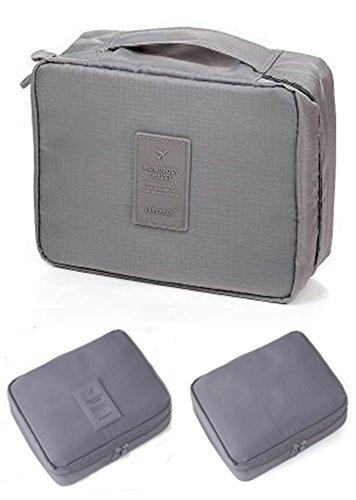 Ruikey 1 Pack Portable Voyage Maquillage Cas Pochette Trousse de Toilette Cosmétique sac Articles de toilette sac sac de rangement