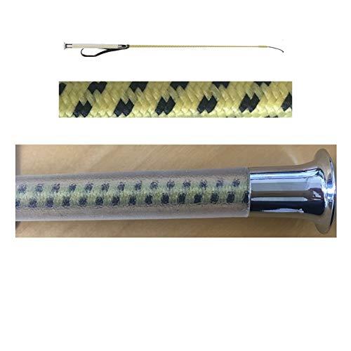 netproshop Reitgerte mit Gelgriff 80 cm Auswahl, Farbe:senfgelb, Groesse:80 cm